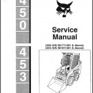 Bobcat 450 - 453 Skid Steer Loader Service Repair Manual CD
