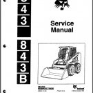 Bobcat 843 - 843B Skid Steer Loader Service Repair Workshop Manual CD