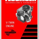 Tecumseh V-Twin Engine Service Repair Workshop Manual CD --- VTwin