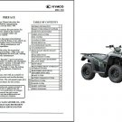 Kymco MXU 500 ATV Service Manual on a CD -- MXU500