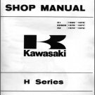 1969-1977 Kawasaki H1 H2 KH500 Service & Parts Manual CD -- Mach III