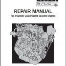 Briggs & Stratton Vanguard 3/LC 3-Cyl Engine Service Repair Manual CD