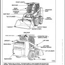 Bobcat 843 Skid Steer Loader Service Manual on a CD