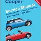2002 2003 2004 2005 2006 Mini Cooper, Cooper S Service Manual on a CD