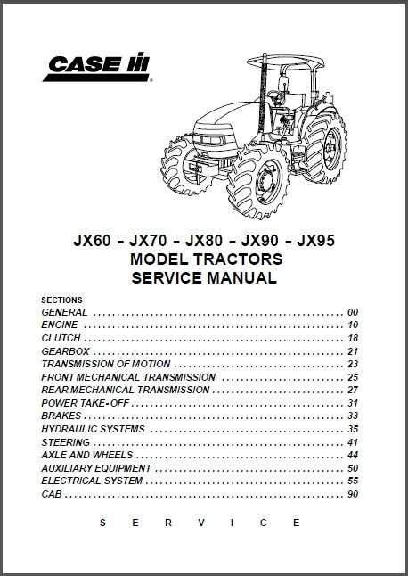 case jx95 wiring diagram   24 wiring diagram images