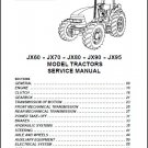 Case IH JX60 JX70 JX80 JX90 JX95 Tractor Service Manual on a CD