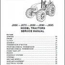 Case IH JX60 JX70 JX80 JX90 JX95 Tractor Service Manual on a CD