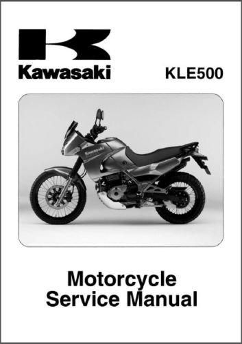 2005-2006-2007 Kawasaki KLE500 Service Manual on a CD