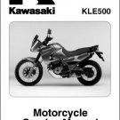 2005-2006-2007 Kawasaki KLE500 Service Manual on a CD