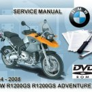 2004-2005-2006-2007-2008 BMW R1200GS / Adventure RepROM Service Manual on a DVD