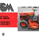 Kubota B7100HST B6100HST ( B7100 B6100 HST ) Tractor WSM Service Workshop Manual CD