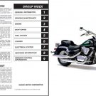 1998-2009 Suzuki VL 1500 Intruder LC / Boulevard C90 Service Manual CD -- VL1500