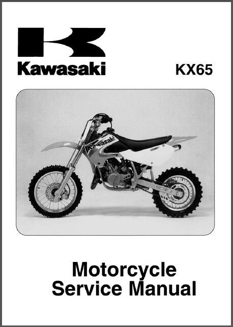 2000-2011 Kawasaki KX65 Service Workshop Repair Manual CD .. - KX 65