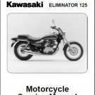 1998-2007 Kawasaki Eliminator 125 Service Manual on a CD