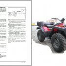 Massey Ferguson AgTV 250 300 400 500 Quad ATV Service Manual on a CD