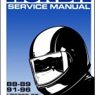 88-89 91-96 Honda VT600C VT600CD Shadow VLX 600 Service Repair Manual CD - VT600