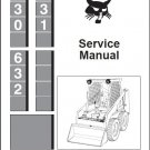 Bobcat 630 631 632 Skid Steer Loader Service Repair Manual CD