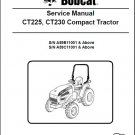 Bobcat CT225 CT230 Compact Tractor Service Manual on a CD -- CT 225 230
