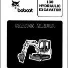 Bobcat 130 Hydraulic Excavator Service Repair Manual on a CD