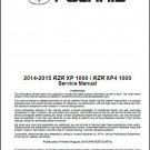 2014-2015 Polaris RZR XP 1000 / RZR XP4 1000 / EPS High Lifter Service Manual CD