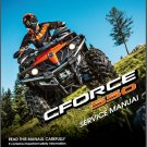 CFMoto CForce 550 ( CF500AU-6L ) 4X4 ATV Service Manual on a CD