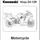 2002-2003-2004-2005-2006 Kawasaki Ninja ZX-12R ( ZX1200 ) Service Manual on a CD