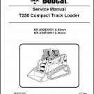 Bobcat T250 Compact Track Loader Service Manual on CD