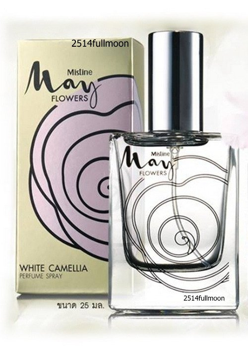 25 ml. Mistine May Flowers WHITE Camellia Perfume Spray