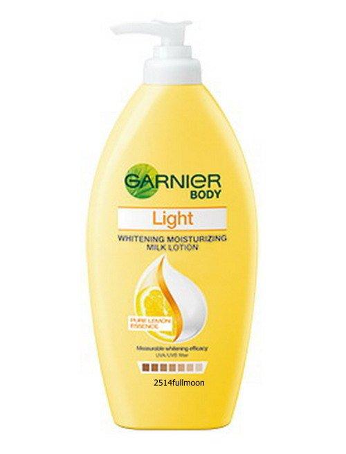 400 ml. Garnier Body Light Whitening Repairing Milk Body Lotion