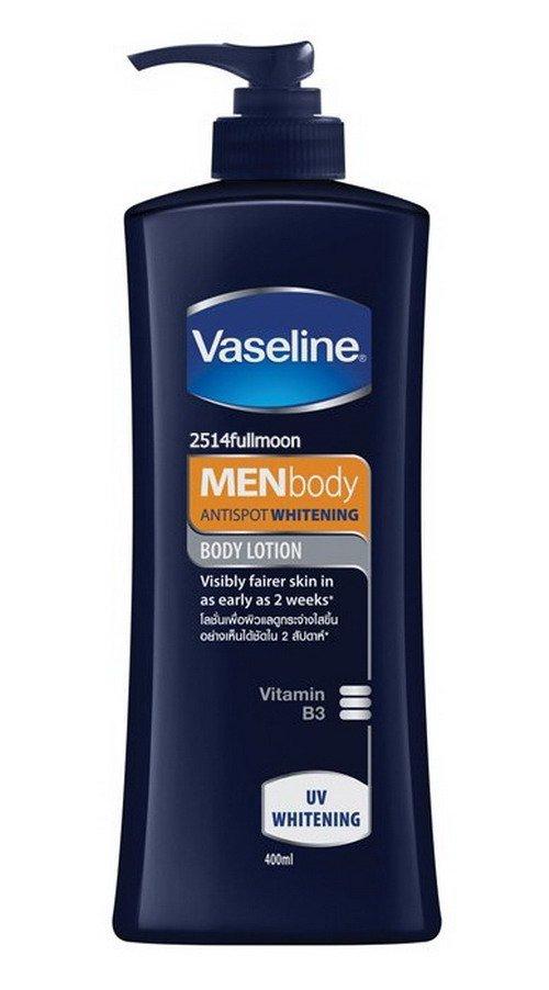 400 ml. Vaseline Men Body Antispot Whitening UV Whitening Body Lotion