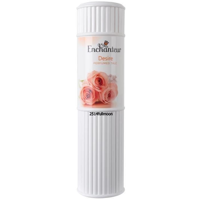 200 g. ENCHANTEUR Perfumed Talc Body Powder Desire