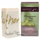 100 g. Maithong Natural Herbal Soap Bar Face And Body Wash Mangosteen Herbal Soap