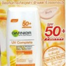 30 ml. Garnier Sun Facial UV Complete Whitening Protect Daily Sun SPF 50 PA++++ BEIGE Color