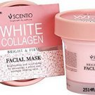 100ml. BEAUTY BUFFET Scentio White Collagen Bright & Firm Facial Mask