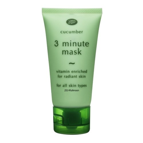 50 g. Boots Cucumber 3 Minute Face Mask Vitamin Enriched for Radiant Skin