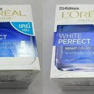 Set Of L'Oreal White Perfect With Melanin-vanis Day Cream SPF 17 PA++ Night Cream
