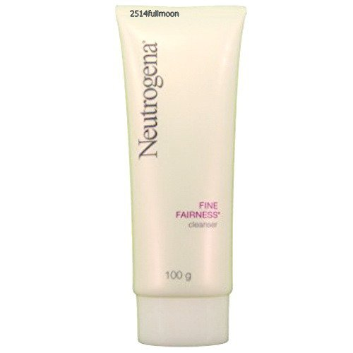 100 g. Neutrogena Fine Fairness Facial Cleansing Foam