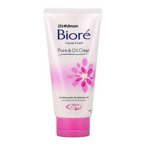 100 g. Biore Pure Oil Clear Facial Foam