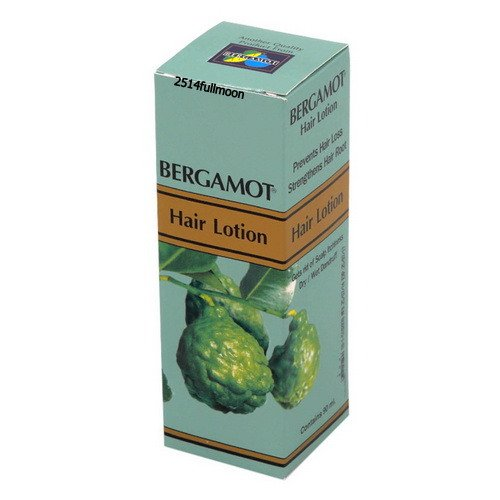 90 ml. Bergamot Hair Lotion Loss Treatment Dandruff Itchy Dry Scalp Prevent Hair