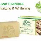 100 g Tanaka Soap Moisturizing Whitening Thanaka Natural Turmeric Skin Care