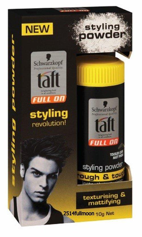 10 g. Schwarzkopf Taft Full on Rough & Tough Hair Styling Powder
