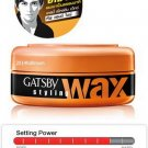 75 g. GATSBY Hair Styling Wax Tough & Shine