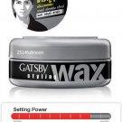 75 g. GATSBY Hair Styling Wax Mat & Hard