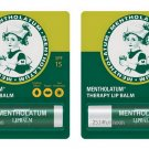 2X 3.5 g. Mentholatum Therapy Medicated Lip Balm Gloss Stick SPF 15