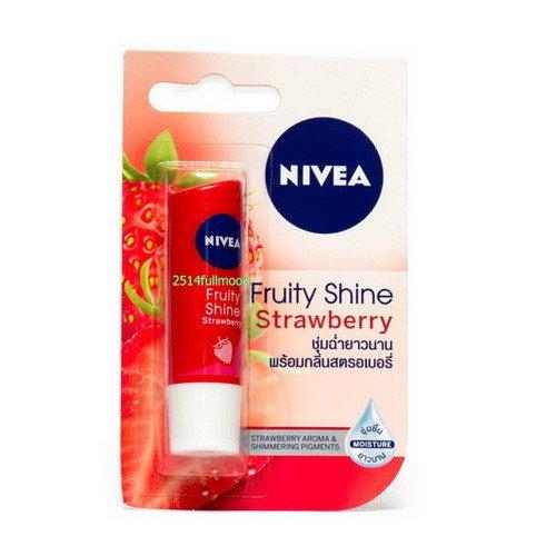 4.8 g. Nivea Lip Balm Fruity Shine Lip Care - Strawberry