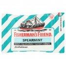 250 g. (25 g. x 10 Packs) Fisherman's Friend Lozenges SPEARMINT SUGAR FREE
