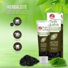 150 g. Twin Lotus Herbaliste Active Charcoal & Herbs Toothpaste Remove Bad Breath