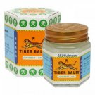 30 g. Tiger Balm WHITE Thai Original Herbal Jar Rub Muscles Aches Pain Relief
