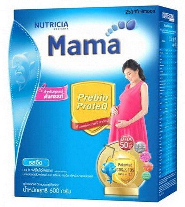 600 g. DUMEX MAMA Prebio ProteQ Original Milk Powder For Pregnant