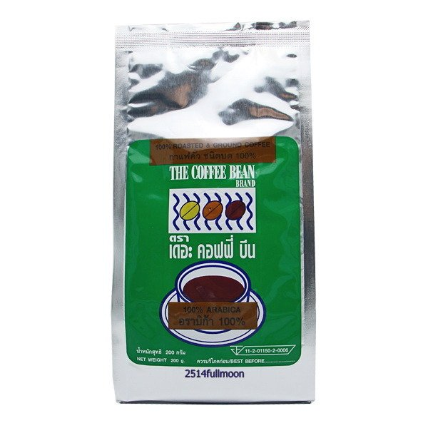 200 g. The Coffee Bean Roasted Ground Coffee ARABICA